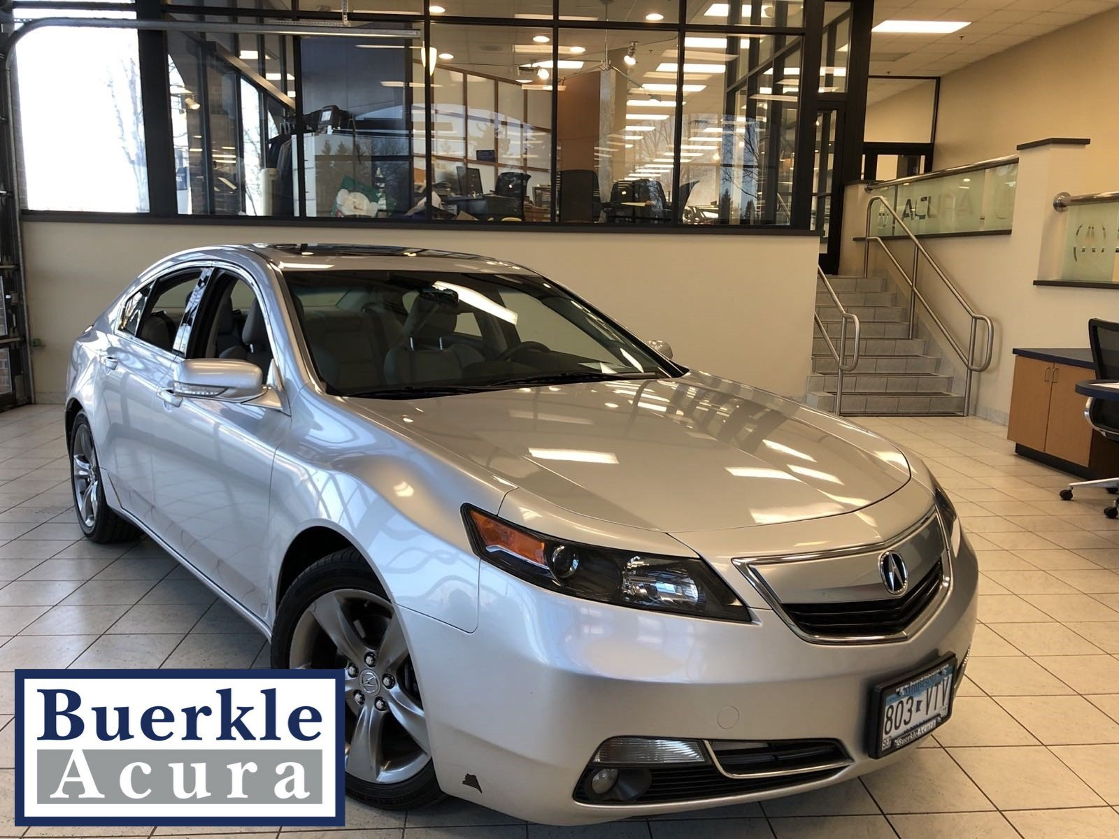 Pre-Owned 2012 Acura TL SH-AWD Tech Auto