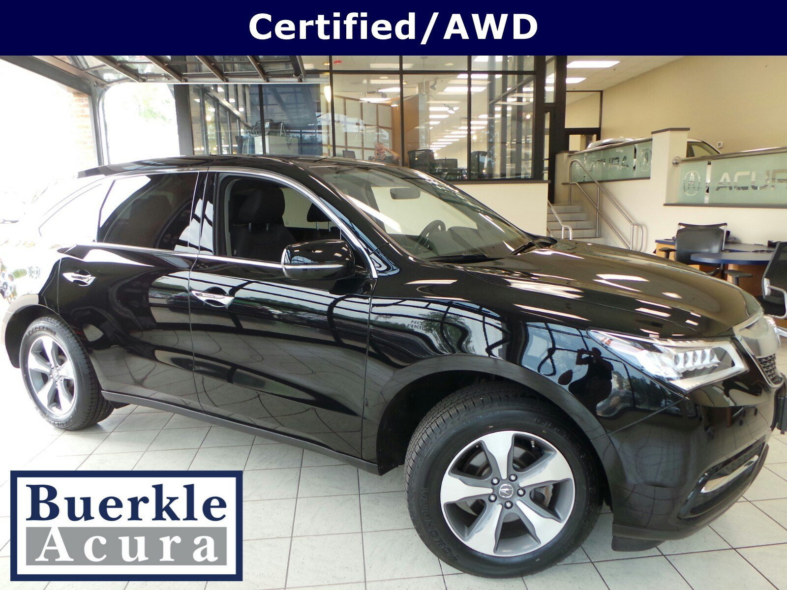 Certified PreOwned Acura MDX SHAWD Sport Utility P - Acura mdx pre owned