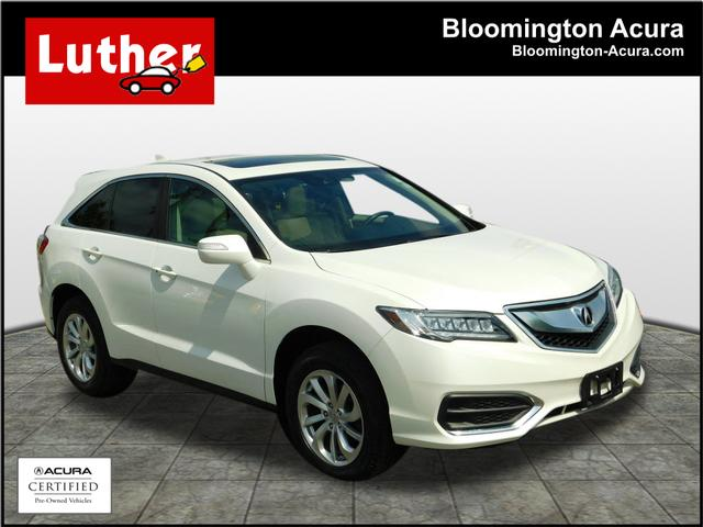Certified Pre-Owned 2016 Acura RDX AWD with AcuraWatch Plus