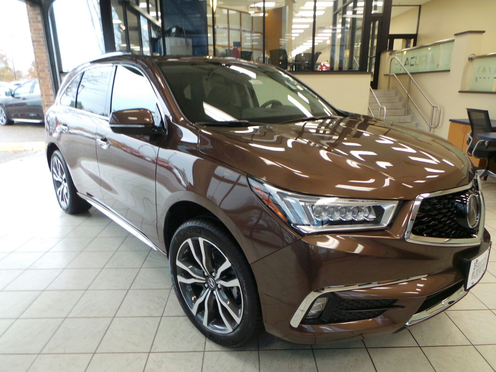 New 2019 Acura MDX SH AWD with Advance Package Sport Utility N