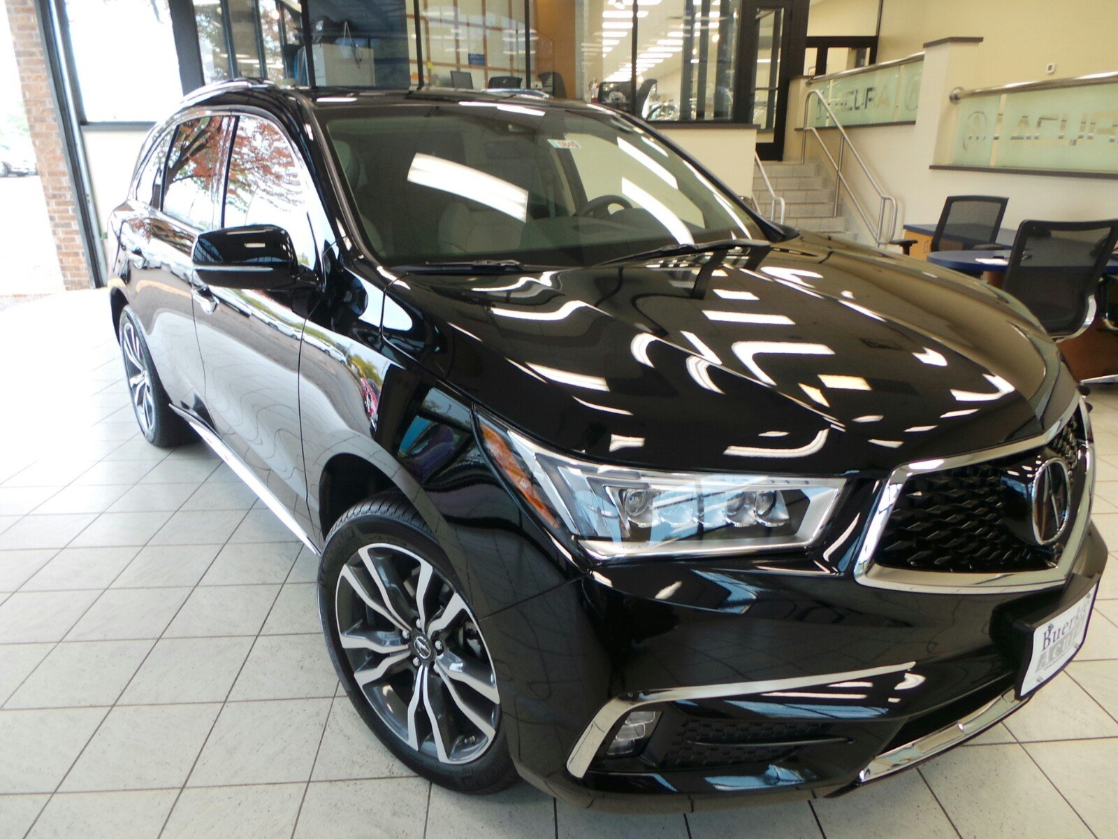 New 2019 Acura MDX SH AWD with Advance and Entertainment Packages