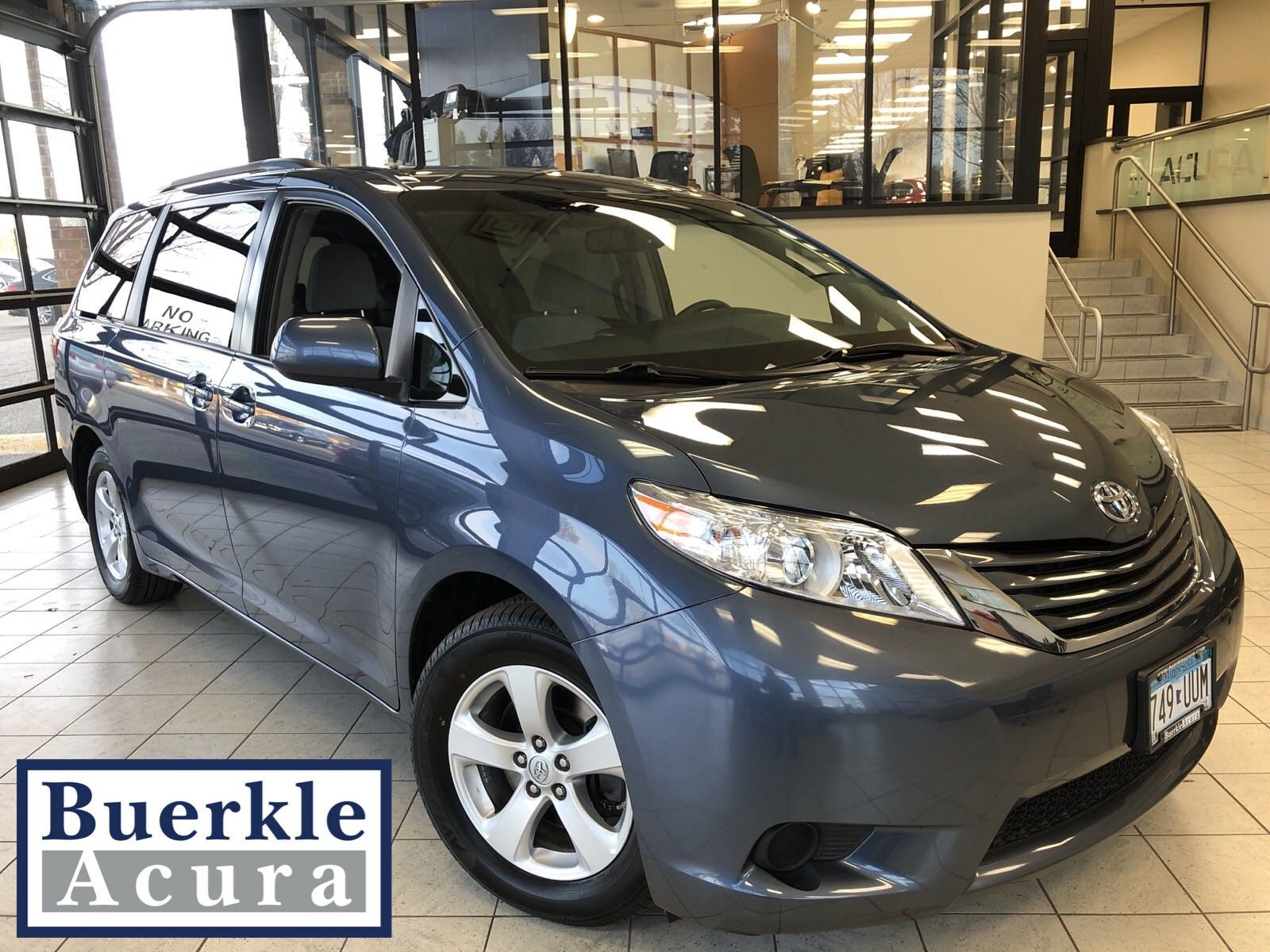 Pre Owned 2016 Toyota Sienna Le