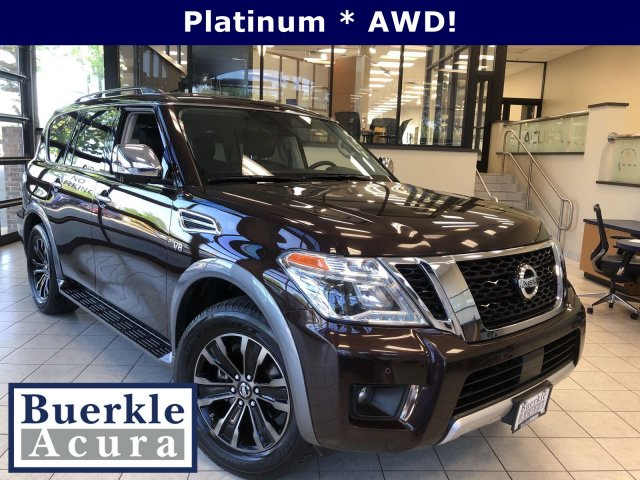 Pre-Owned 2018 Nissan Armada 4WD Platinum